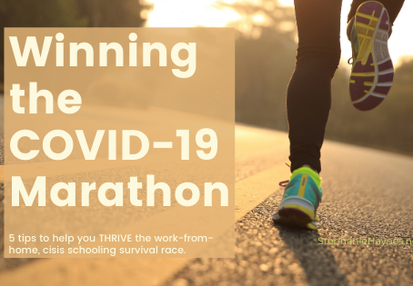Winning the Covid-19 Marathon