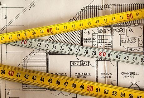 site measurement renovation interior des