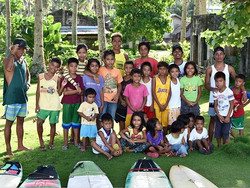 Burgos groms and their instructors