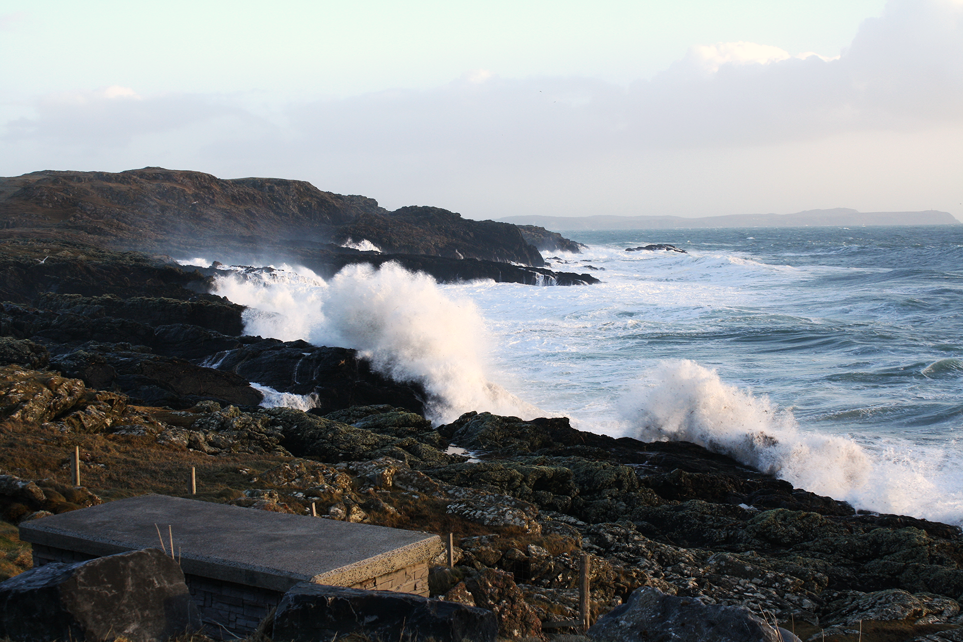Wild atlantic swell