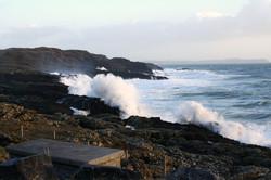 Wild atlantic swell