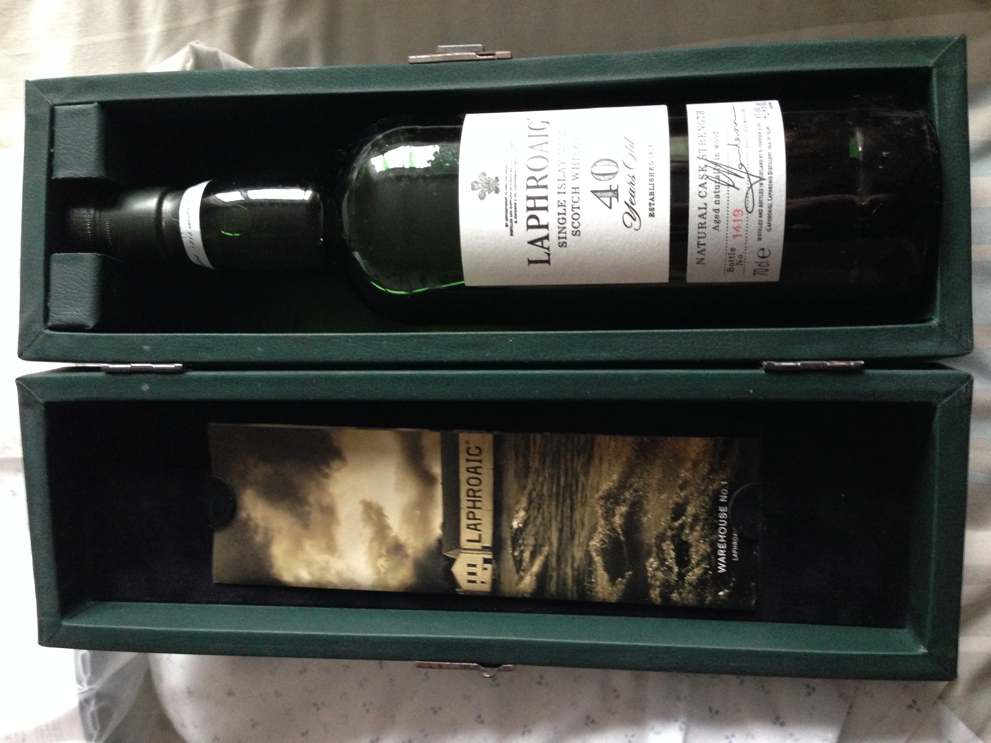 40 year old Laphroaig