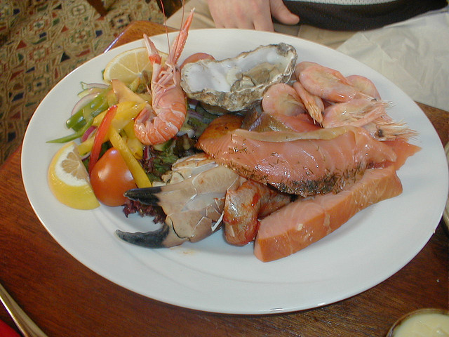 Islay Sea food Platter