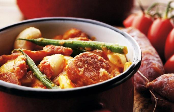 Chorizo & Potato Tapas