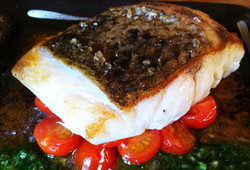 Grilled Mojito Sea bass Fillet
