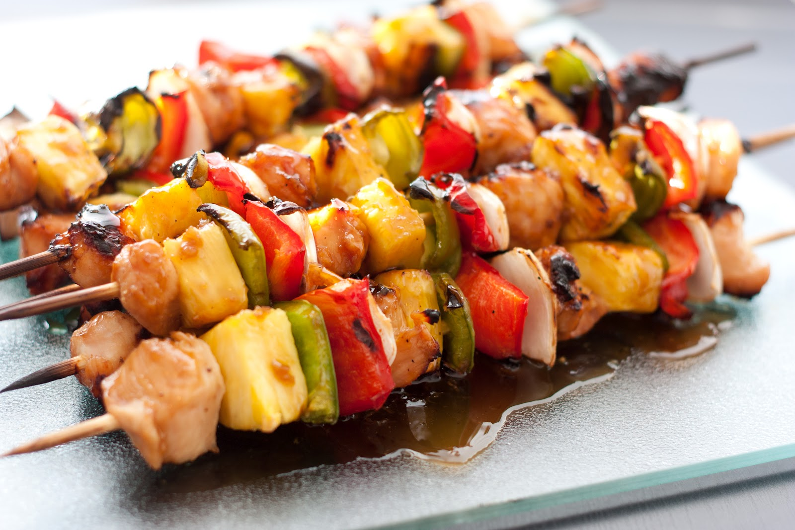 Marinated Jerk Chicken Skewers