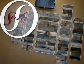 Sola Salon Studio Collage Wall