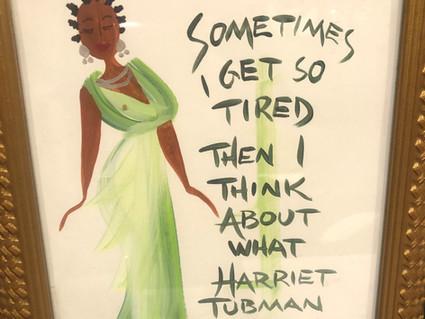 Like Harriet Tubman