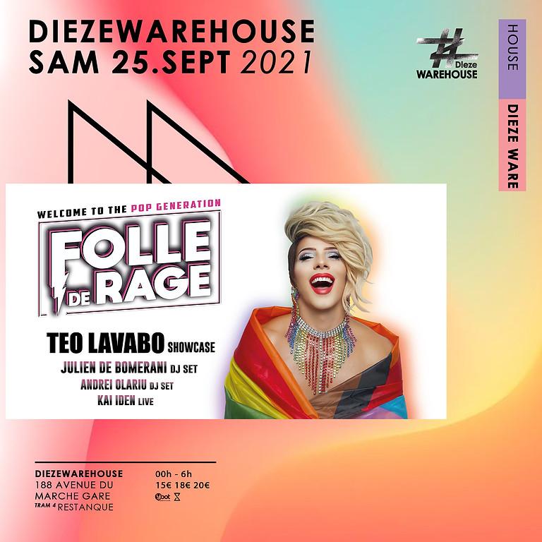 Folle de rage - TEO LAVABO showcase