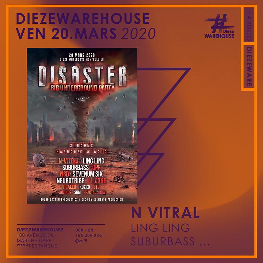 Disaster • Big Underground Party