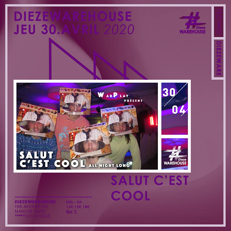 Warplay #2 w/ Salut C'est Cool - ALL NIGHT LONG