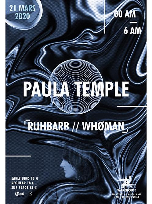 Affiche A1 Paula Temple