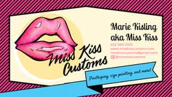 Miss Kiss Business Card (shared)