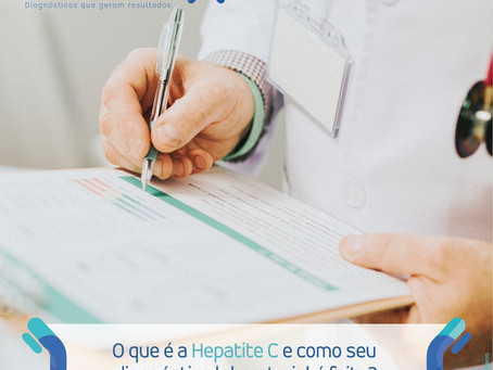 O QUE É A HEPATITE C E COMO SEU DIAGNÓSTICO LABORATORIAL É FEITO