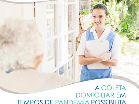 A COLETA DOMICILIAR EM TEMPO DE PANDEMIA POSSIBILITA CUIDAR DA SAÚDE EM SEGURANÇA