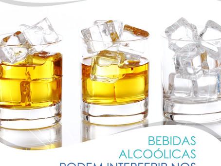 BEBIDAS ALCOÓLICAS PODEM INTERFERIR NO RESULTADO DOS EXAMES?