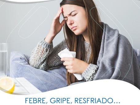 """FEBRE, GRIPE, RESFRIADO...""""POSSO FAZER EXAMES DE SANGUE MESMO ASSIM?"""""""