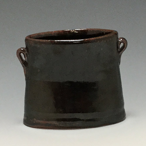 Black Pocket Vase