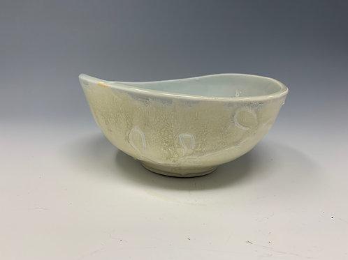 Swoop bowl, yellow