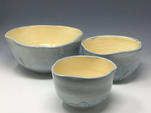 Nested Serving Bowls - set of 3