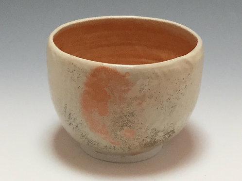 Shino serving bowl