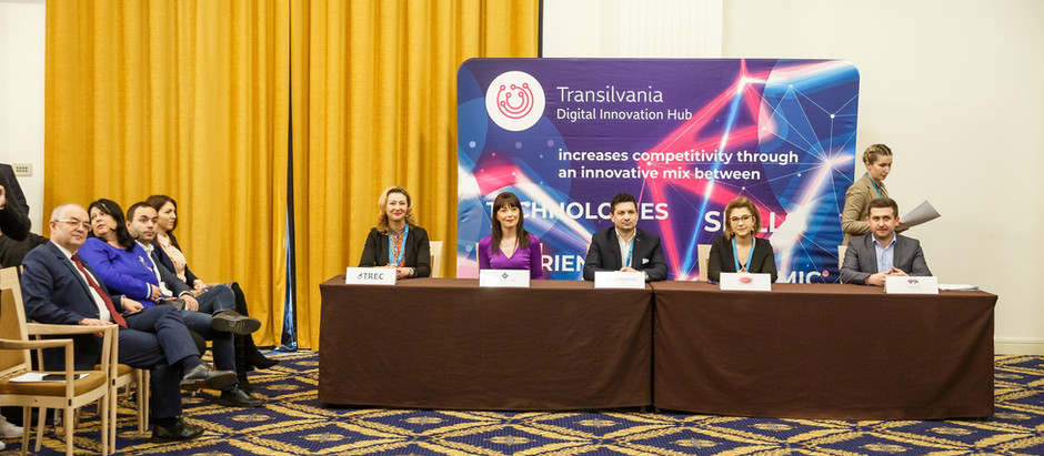 TRANSILVANIA DIH - Success in the national selection of DIGITAL INNOVATION HUBS