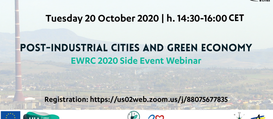 UIA SPIRE BAIA MARE: Post-Industrial Cities and Green Economy - EWRC Side Event Webinar