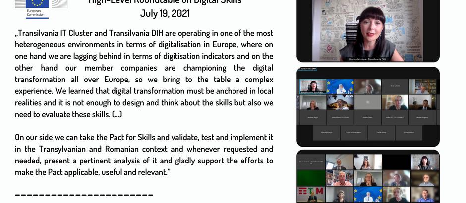 High-level Roundtable on Digital Skills