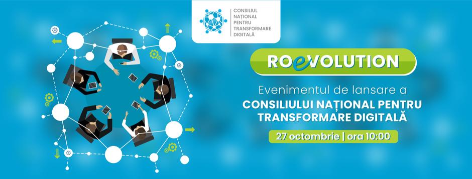 ROeVOLUTION - eveniment de lansare a Consiliului Național pentru Transformare Digitală
