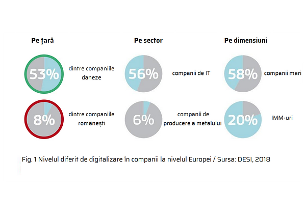 digitalizare companii desi 2018, tradus.