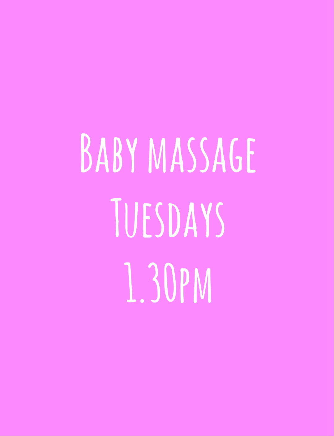 Happy Baby Massage