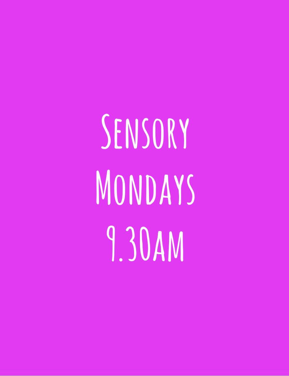 Sensory: 0-12 months