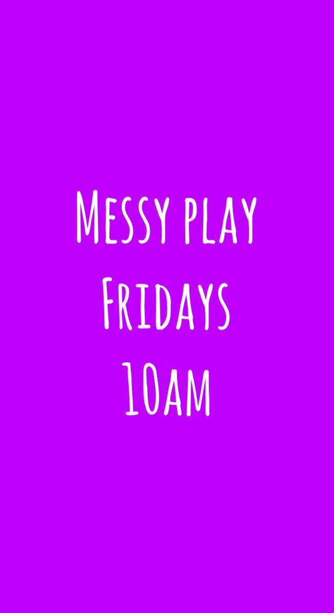 Happy Baby Messy Play