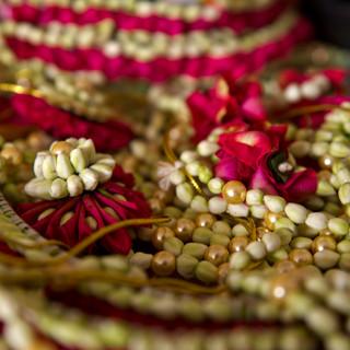 Garland detail shot by Cimmaron Singh