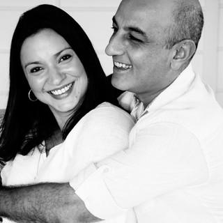 Mrs. & Mr. Bhatia by Cimmaron Singh