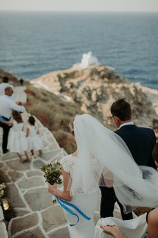 Wedding in Sifnos _ On the way to the church