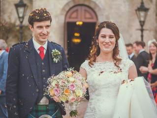 Laura & Gregor's Pittodrie House Wedding
