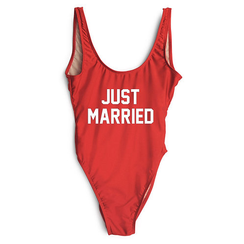 Just Married Bodysuit