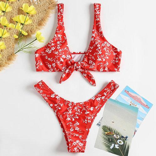 Bernice Bow Bikini Set