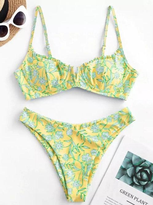 Izabella Bikini - Yellow