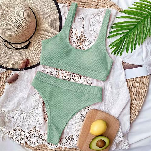 Sophia Bikini Set - Green