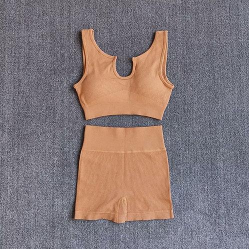 RV New You Set - U neck (Shorts) -