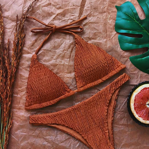 Bacca Smocked Bikini