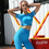 Thumbnail: RV Feisty Sport Crop Top Only