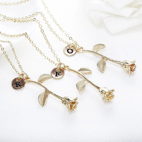I'm Your Rose Necklace-In stock