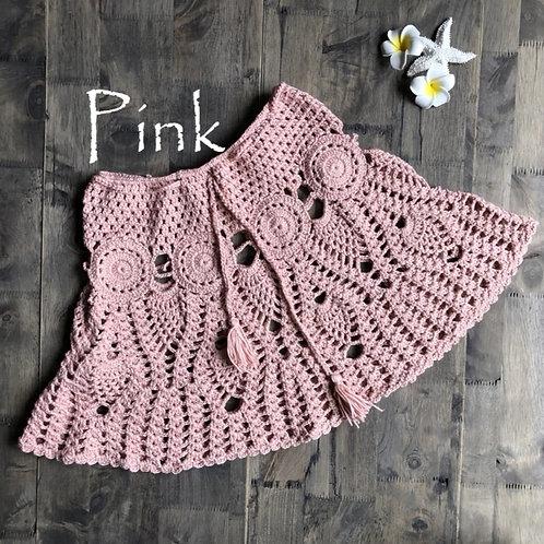 RV Crochet Skirt #1 - Pink