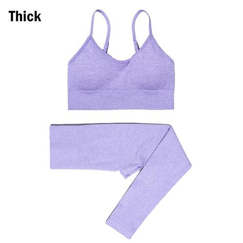 RV That Hot Chic Set-Bra and Leggings - Purple