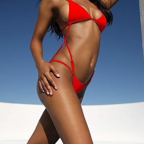 Foxxy Strap One-Piece Bikini