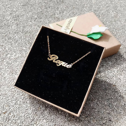 RV Personalized Necklace #1