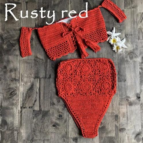 Cala Crochet Set - Rusty Red